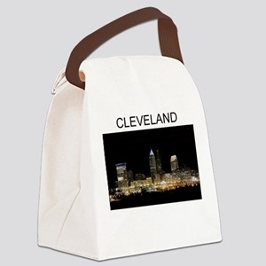 cleveland ohio gifts Canvas Lunch Bag