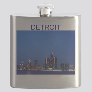 detroit michigan gifts Flask
