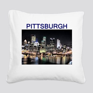 pittsburgh_test_entire_shirt_1 Square Canvas P