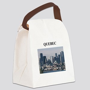 QUEBEC canada gifts Canvas Lunch Bag