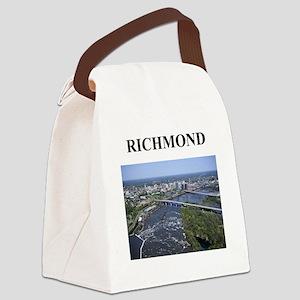 richmond virginia gifts Canvas Lunch Bag