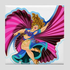 Big-n-Beautiful Winged dancer fair complexion Tile