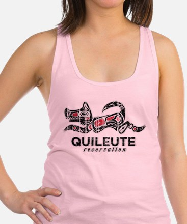Quileute Reservation Racerback Tank Top