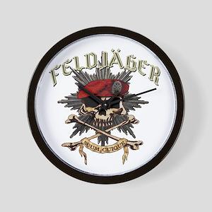 Deutsch Feldjager mit Sterne Wall Clock