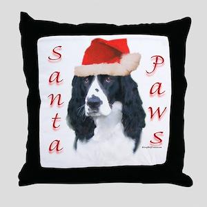 Springer Paws Throw Pillow
