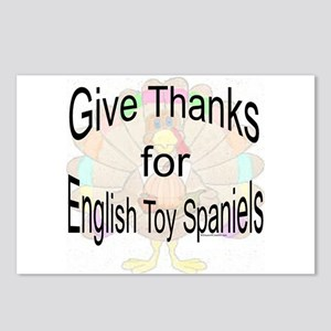 Thanks for Toy Spaniel Postcards (Package of 8)