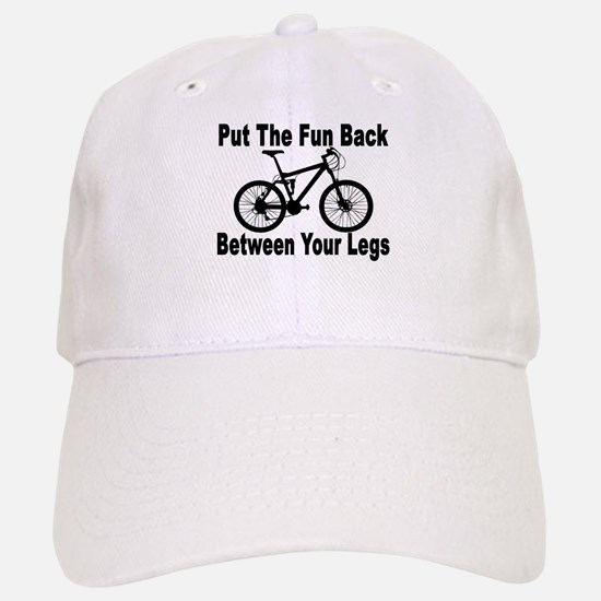 Fun Between Your Legs Baseball Baseball Cap