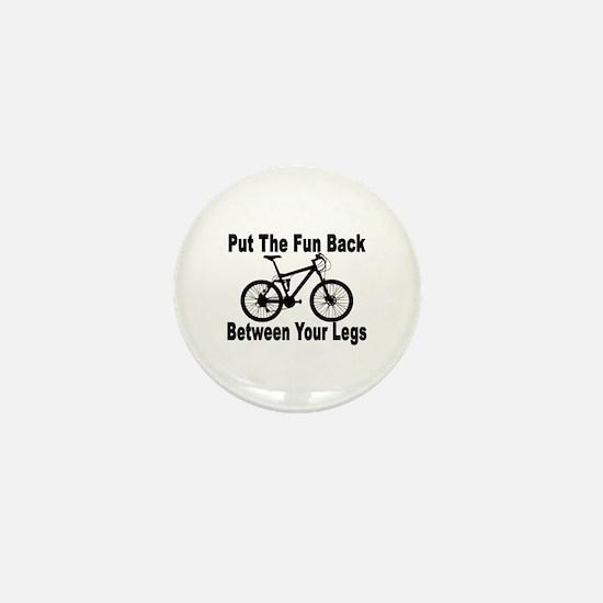 Fun Between Your Legs Mini Button
