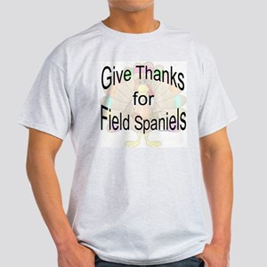 Thanks for Field Spaniel Ash Grey T-Shirt