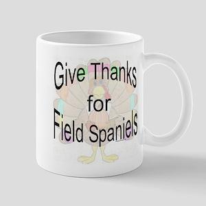 Thanks for Field Spaniel Mug