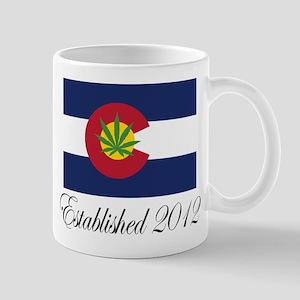 Colorado Cannabis Flag 2012 Mug