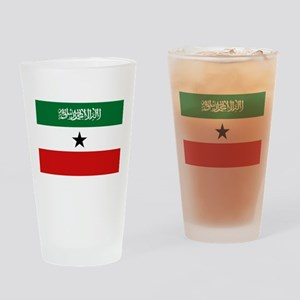Somaliland National Flag - Current Drinking Glass