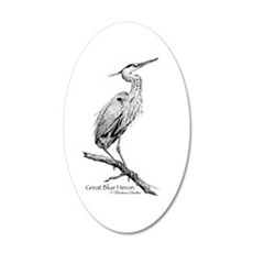 Great Blue Heron Wall Decal