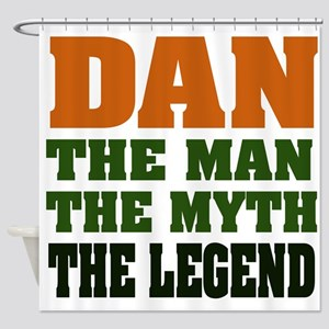 Dan The Legend Shower Curtain