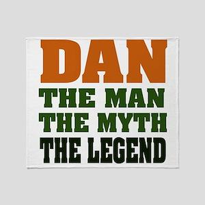 Dan The Legend Throw Blanket