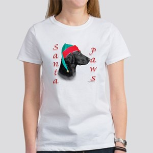 Santa Paws Flat Coat Women's T-Shirt