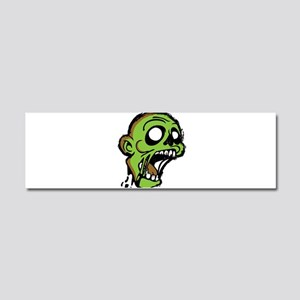 Zombie Head Car Magnet 10 x 3