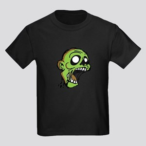 Zombie Head Kids Dark T-Shirt
