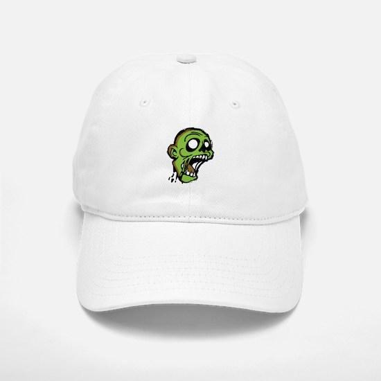 Zombie Head Baseball Baseball Cap