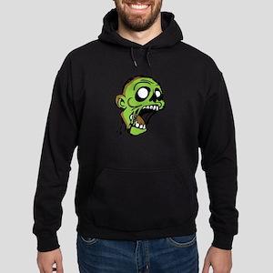 Zombie Head Hoodie (dark)