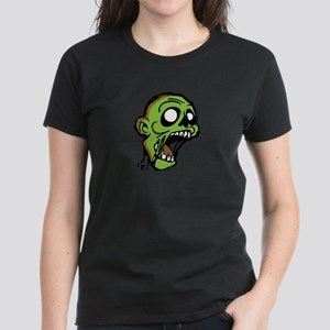 Zombie Head Women's Dark T-Shirt