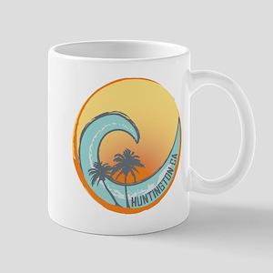 Huntington Beach Sunset Crest Mug
