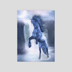 Blue Unicorn 1 5'x7'Area Rug