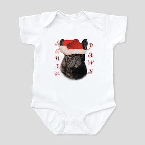 Santa Paws French Bulldog Infant Creeper