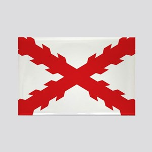 Spain - Cross of Burgundy - 1506-1701 Magnets