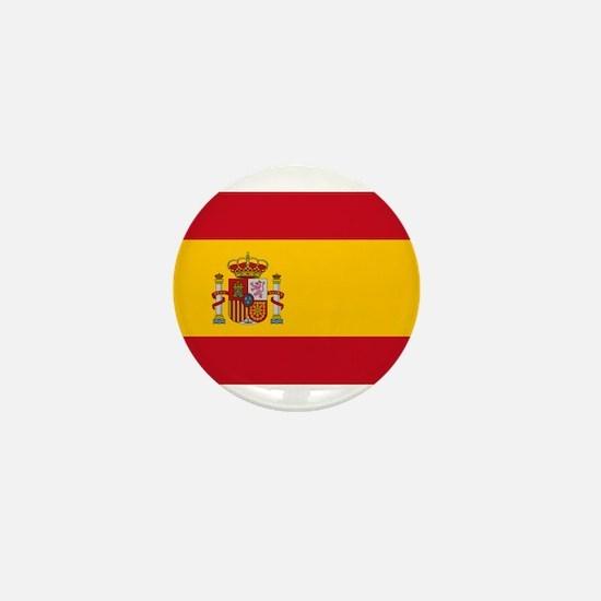 Spain - National Flag - Current Mini Button