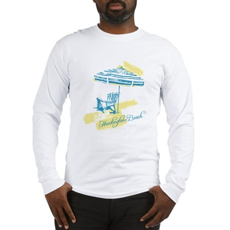 Serenity Huntington Beach Long Sleeve T-Shirt