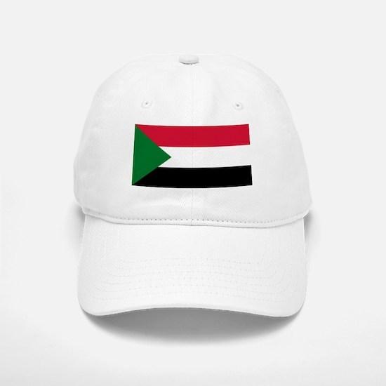 Sudan - National Flag - Current Baseball Baseball Baseball Cap