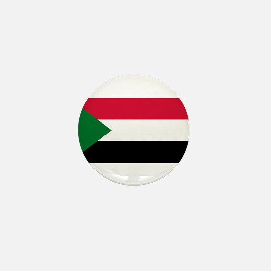 Sudan - National Flag - Current Mini Button