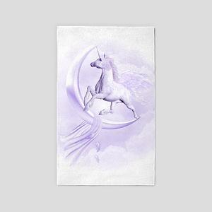 Flying Pegasus 3'x5' Area Rug
