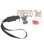 Espresso Time - Cute and Caffeinated. Large Luggag