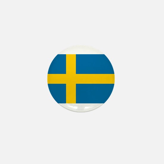 Sweden - National Flag - Current Mini Button