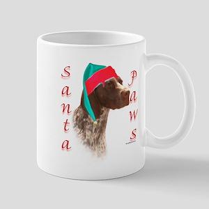 Santa Paws GSP Mug