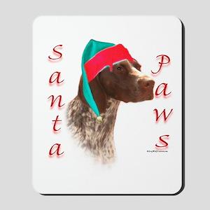 Santa Paws GSP Mousepad