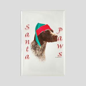 Santa Paws GSP Rectangle Magnet