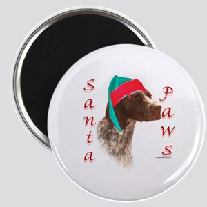Santa Paws GSP Magnet