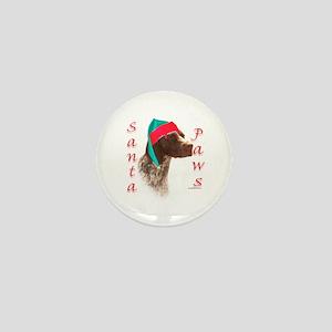 Santa Paws GSP Mini Button