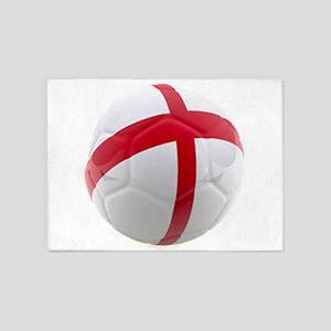 England world cup soccer ball 5'x7'Area Rug