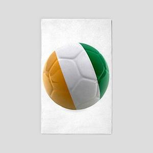 Ireland World Cup Soccer Ball 3'x5' Area Rug
