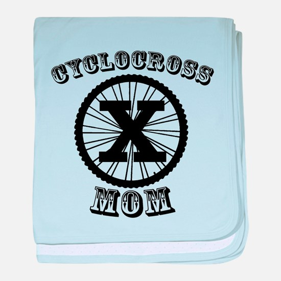 Cyclocross Mommy Diva baby blanket