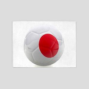 Japan World Cup Ball 5'x7'Area Rug