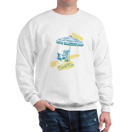 Crystal Cove Serenity Print Sweatshirt