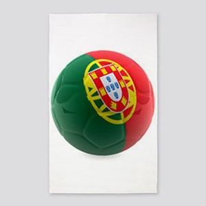 Portugal World Cup Ball 3'x5' Area Rug
