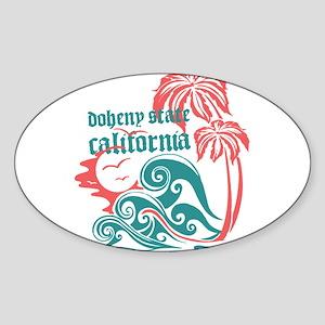 Wavefront Doheny State Sticker (Oval)