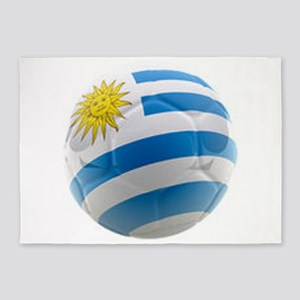 Uruguay World Cup Ball 5'x7'Area Rug