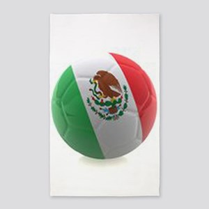 Mexico World Cup Ball 3'x5' Area Rug